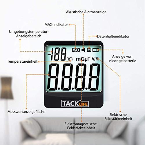 Elektrosmog Messgerät TACKLIFE MET01 - 5