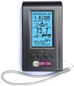 Elektrosmog Messgerät GQ EMF Meter 390
